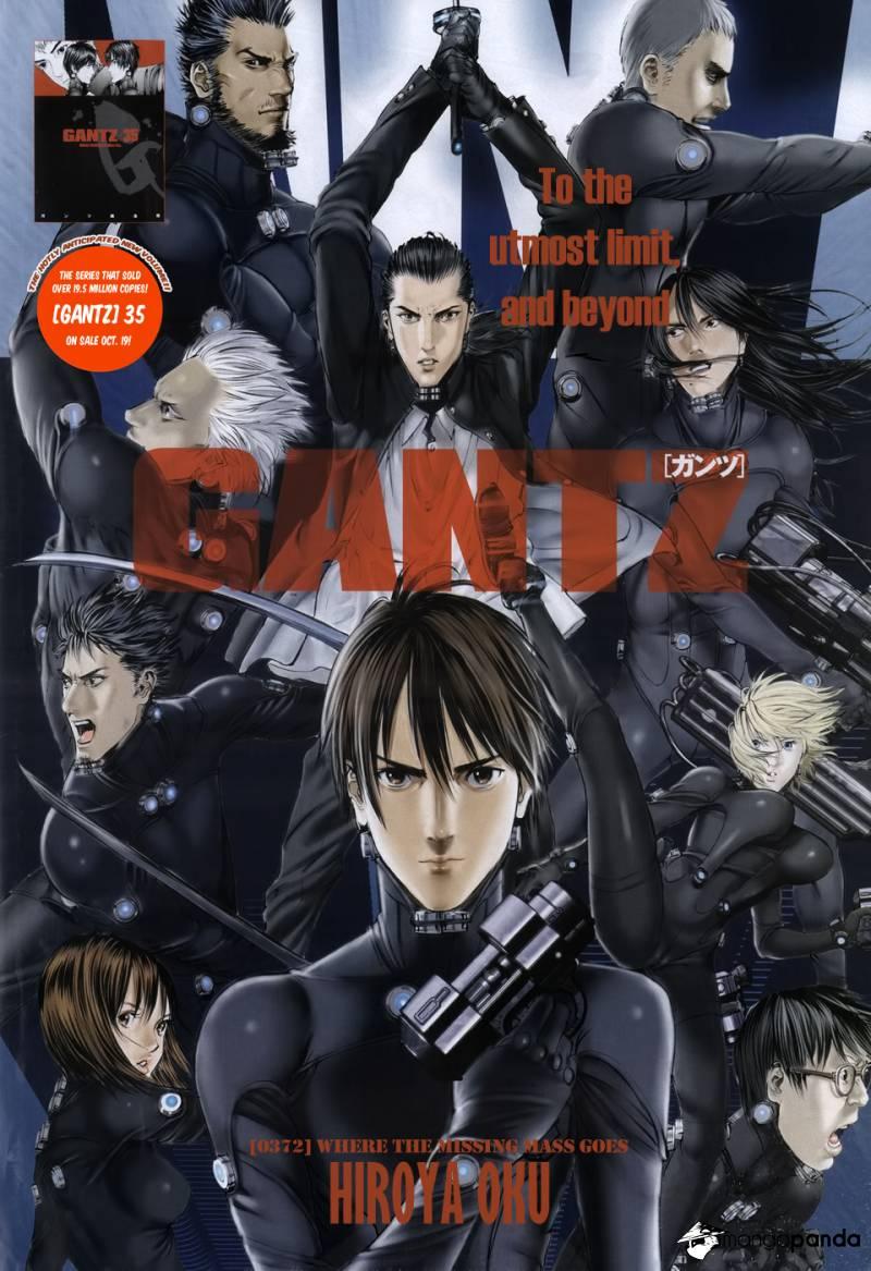 Gantz cover